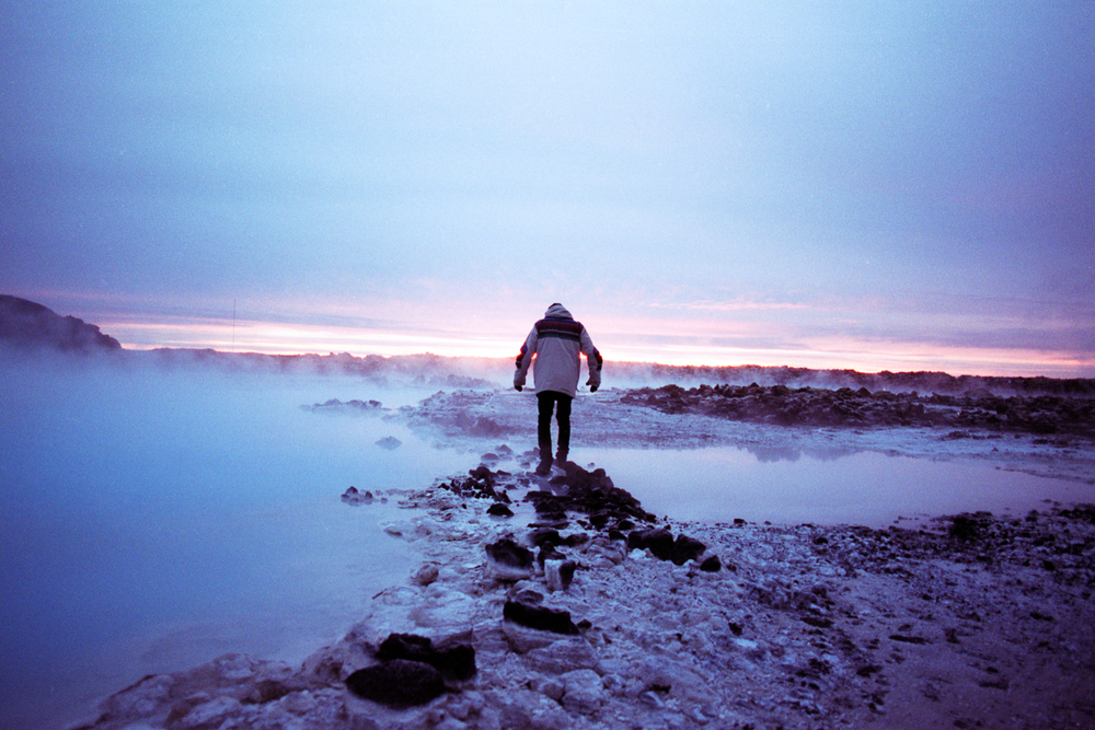 Iceland.  Logan Landry  35mm film