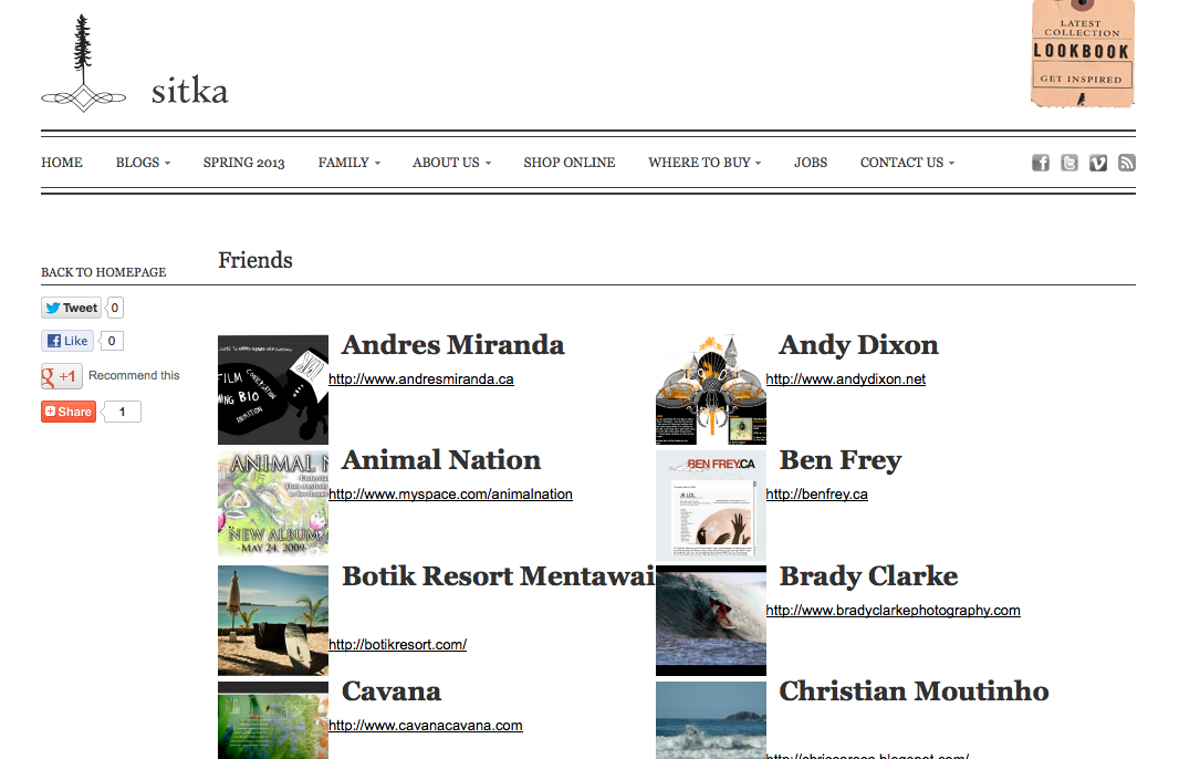 Pleased to bee featured on the  Sitka Friends Page!  Check out the list of artists my name sits beside!