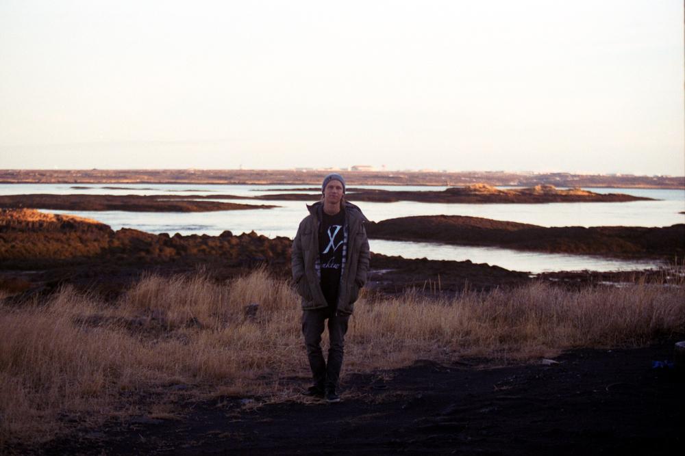 Iceland.  Heiðar Logi Elíasson  35mm film