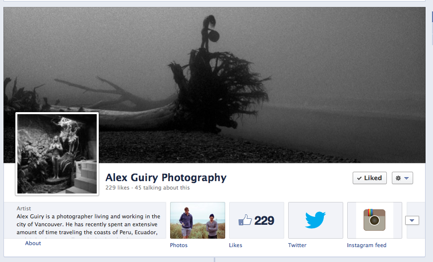 Here's a link to my facebook page. FOR FACKS SAKES CLICK LIKE AND TELL YOUR MOMS. https://www.facebook.com/AlexGuiryPhoto