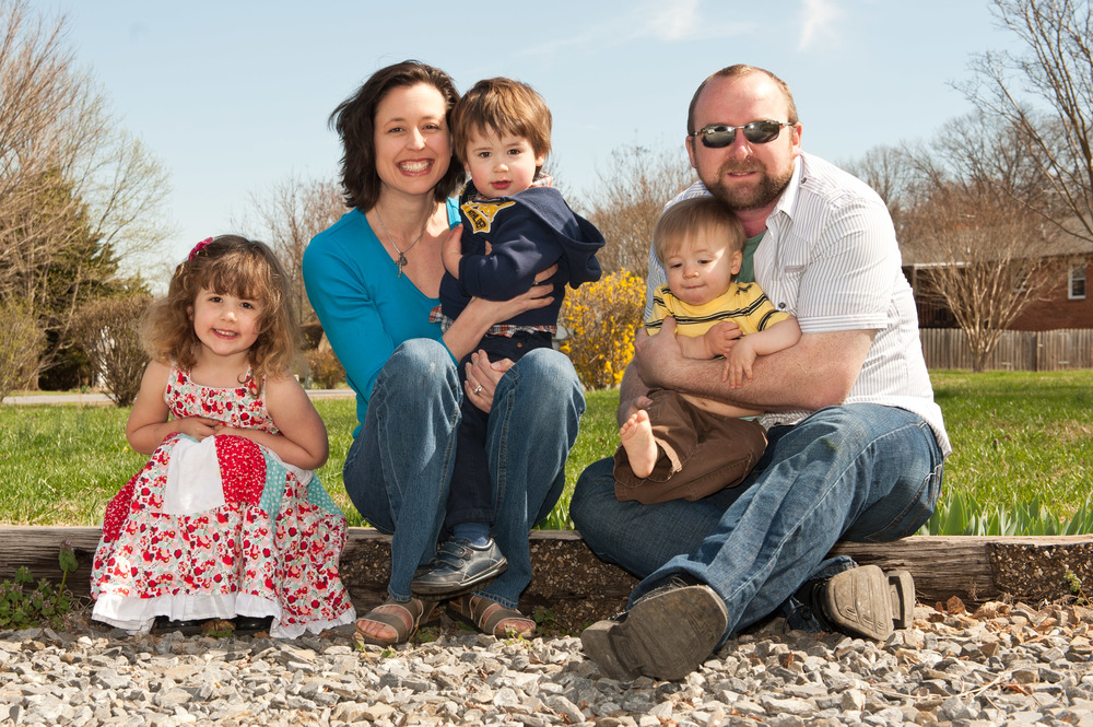 Here is a recent photo of our family. Our website isn't the only thing that has been growing and changing lately!