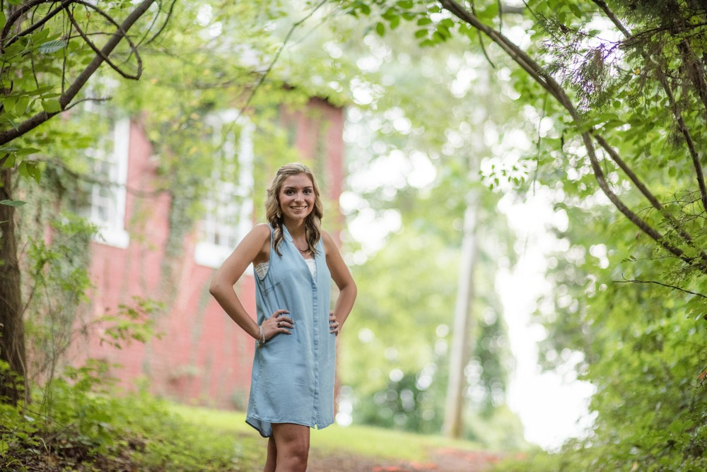 Senior photos Lynchburg, VA