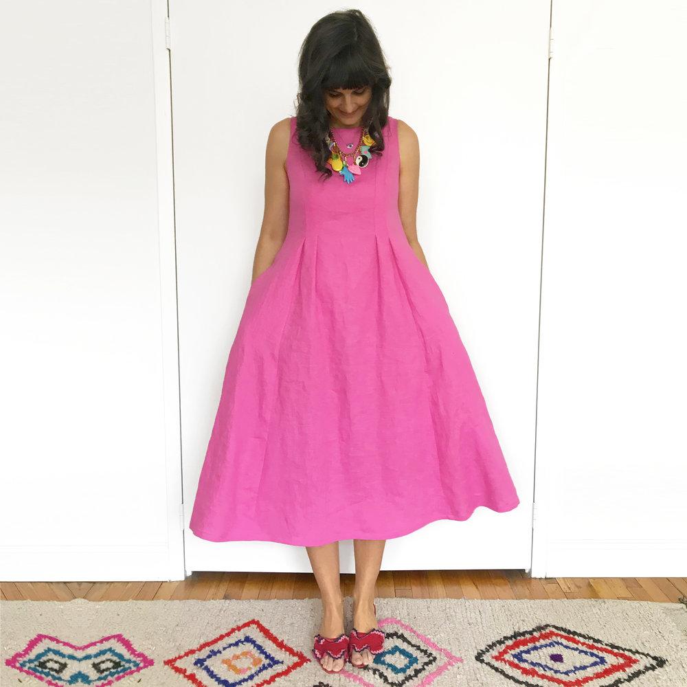 6 instagram pink linen dress copy.JPG
