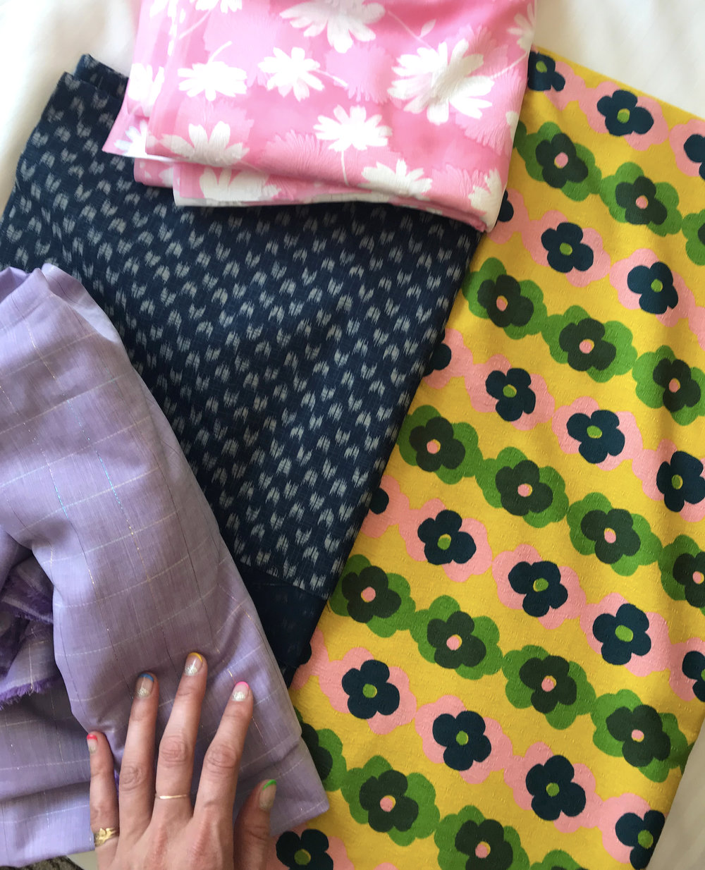 My fabric haul from Nippori Textile Town.
