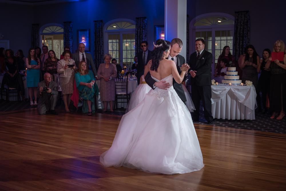 First dance at Rafael's Banquet Hall in Walpole, MA