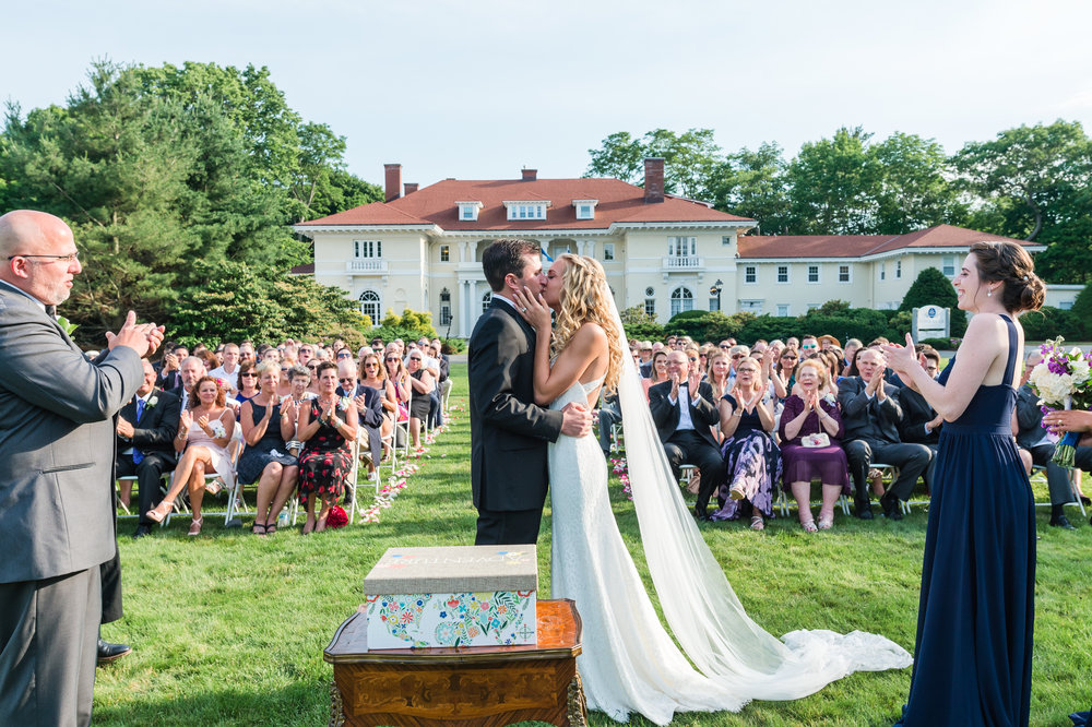 New Hampshire Wedding Ceremony Photographer | Mike Sears Photography