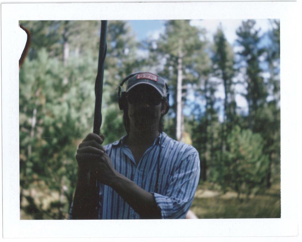 Daniel Argo, boom operator