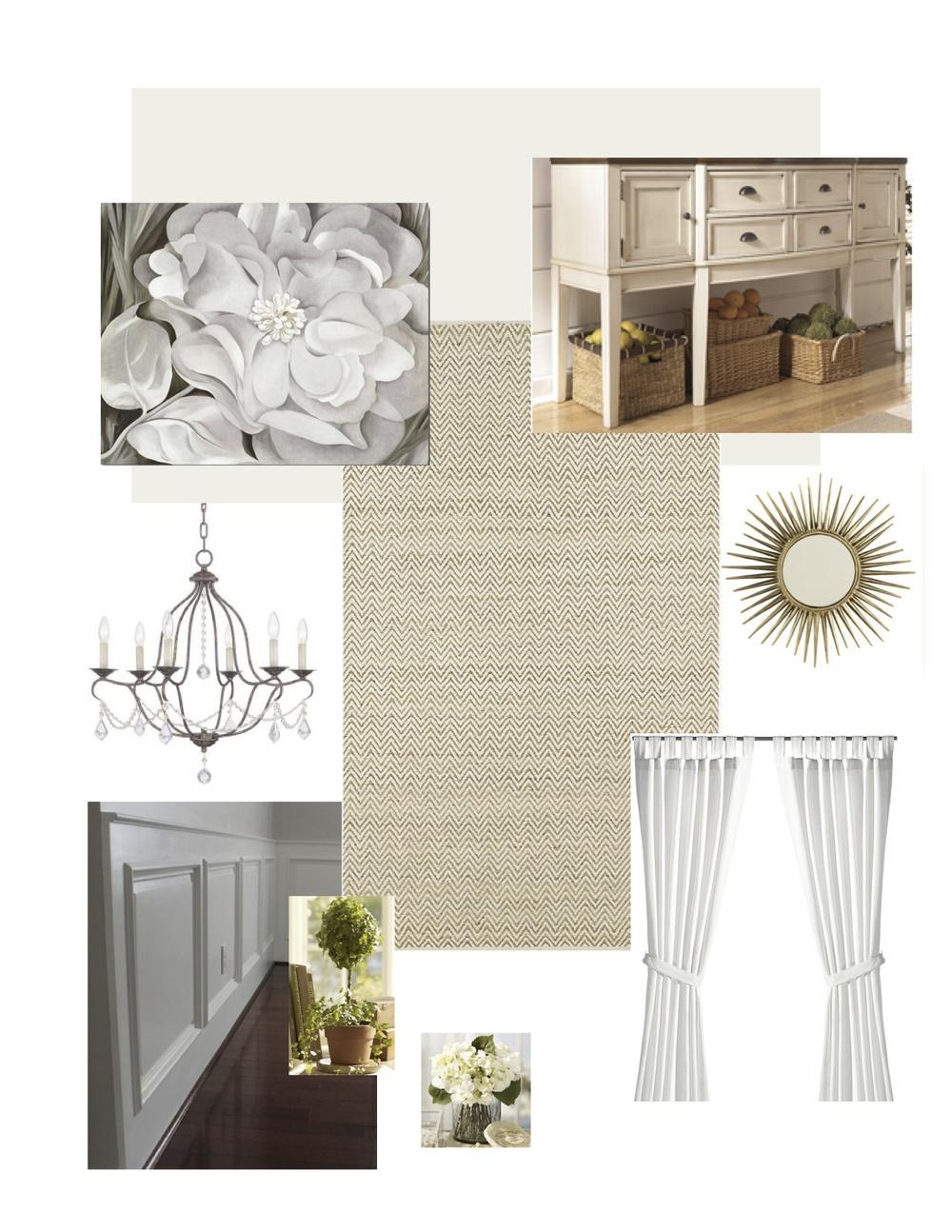 1920u0027s Dining Room Design U2014 FlippinWendy Design