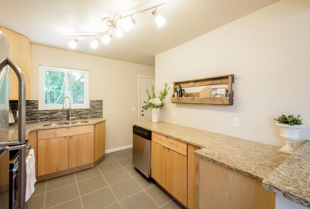 Grandview Kitchen and Back Door After
