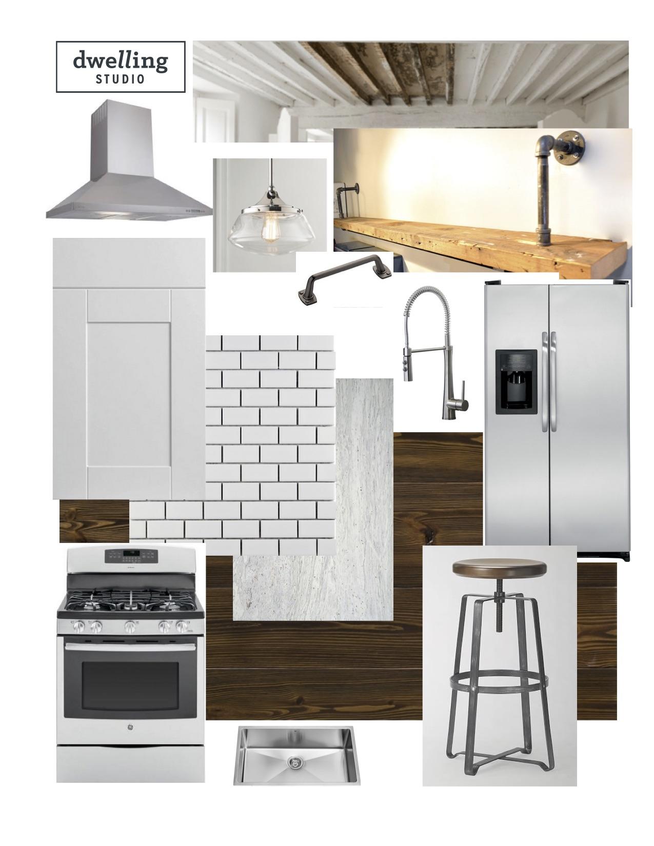 modern schoolhouse kitchen design mood boardjpg - Kitchen Redesign