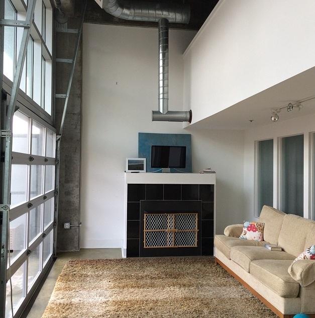 Modern Loft Before