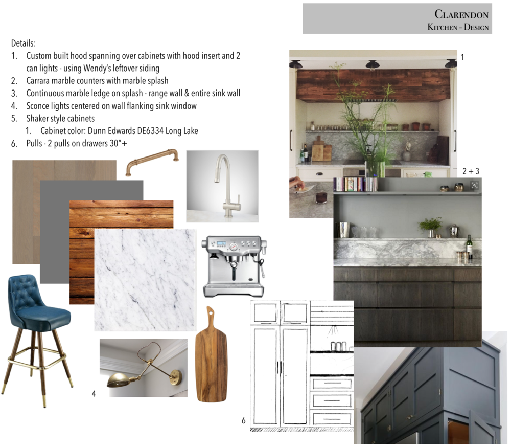 Top Kitchen:  Lauren Liess , Middle Kitchen:  Hale House  , Bottom Kitchen:  CKS Design Studio ,  Bar stool ,  Sconce ,  Faucet ,  Hardware ,  Espresso Machine