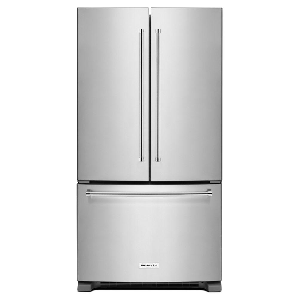 KRFC300ESS 20 cu. ft. French Door Refrigerator in Stainless Steel, Counter Depth