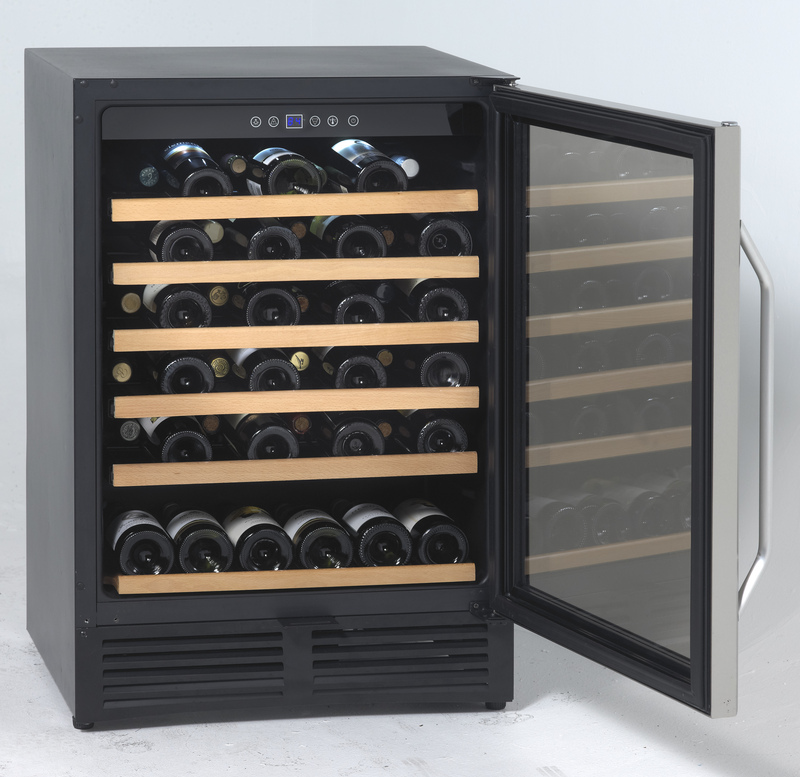 Avanti Avanti WCR506SS 50 Bottle Wine Cooler, Stainless Steel