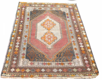 Vintage Turkish Rug Etsy