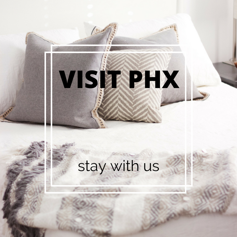 Stay with us in Phoenix Airbnb