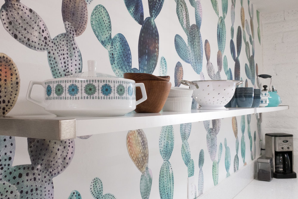 Cozy Cactus Kitchen Shelves and Coffee.jpg