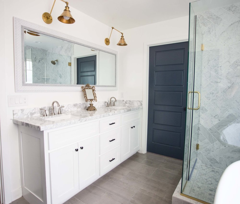 Before & After: Clarendon Project Master Bath — FlippinWendy Design