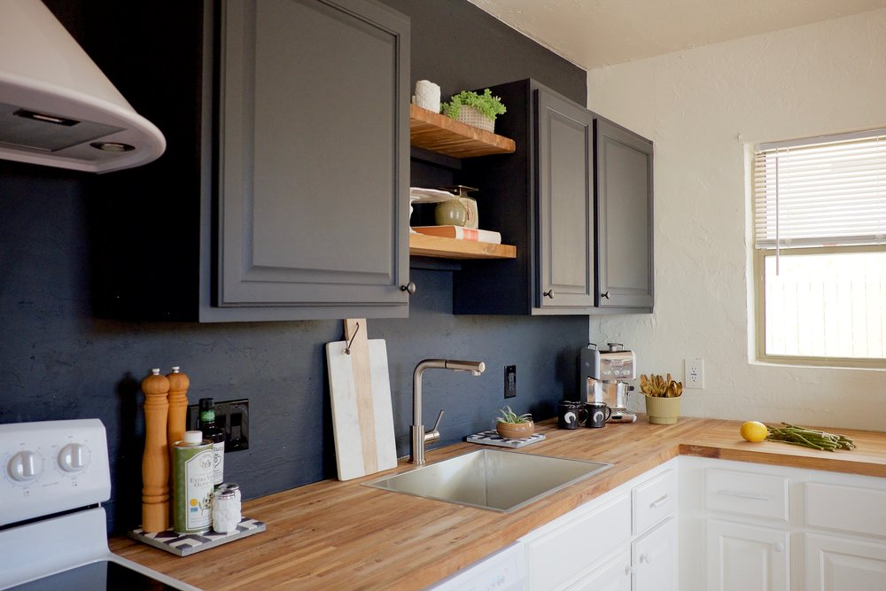 Larkspur Black Kitchen Wall.jpg