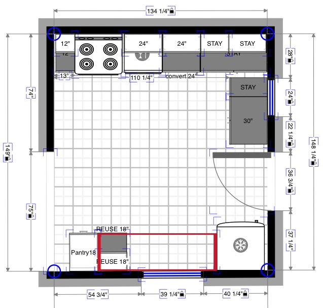 Magic Plan Layout Larkspur Project
