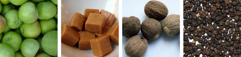 Green Apple / Caramel / Nutmeg / Peppercorn