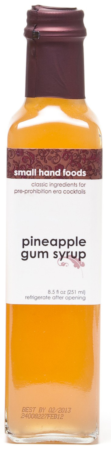 Pineapple syrup by small hands is the perfect thing for you if DIY is TMI.