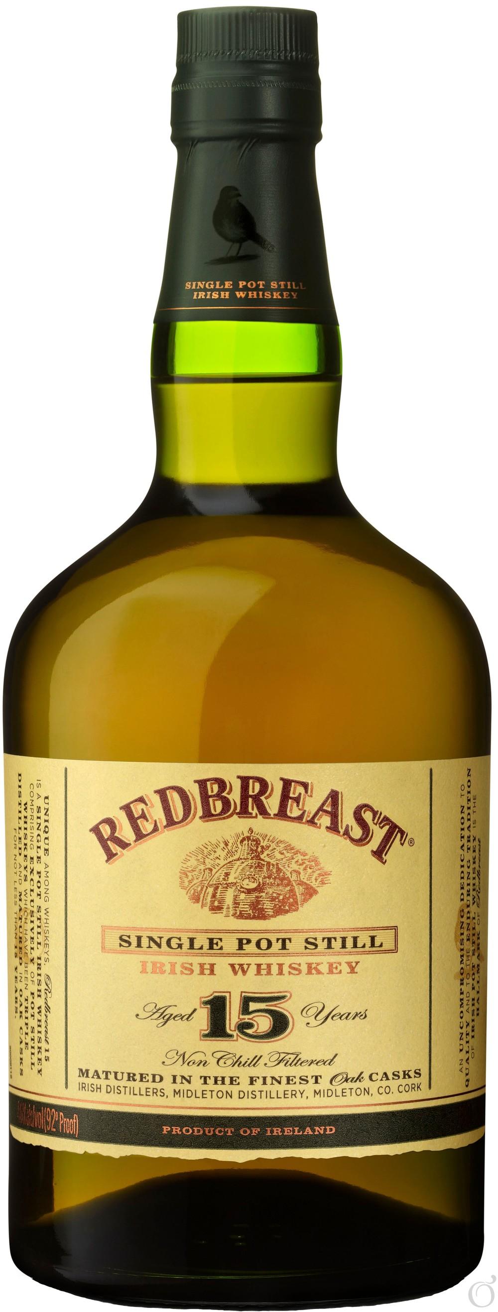 Redbreast 15 bottle