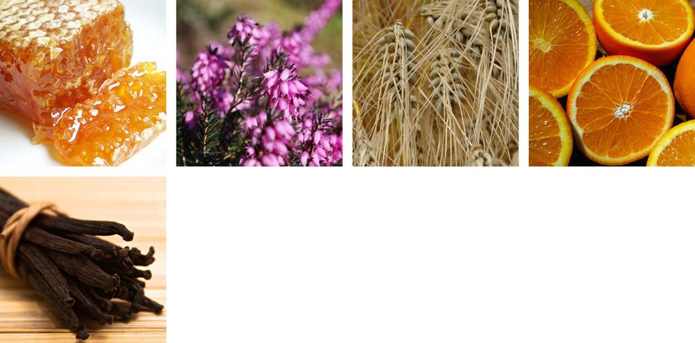 Honey / Heather / Barley / Orange / Vanilla