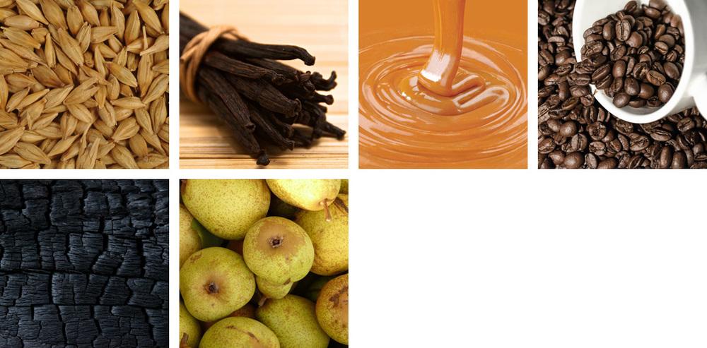 barley / vanilla / caramel / coffee / oak / pear