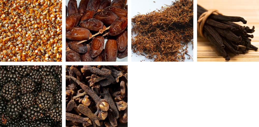 Corn / Dates / Tobacco / Vanilla / Blackberry / Clove
