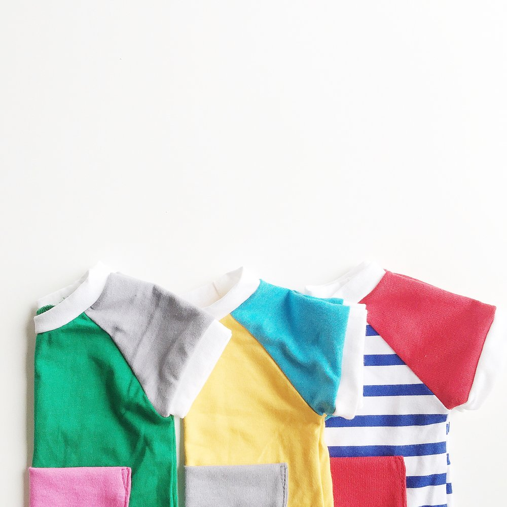 Positano Color Block Pocket Top, Santorini Color Block Pocket Top, Riviera Maritime Stripe Pocket Top