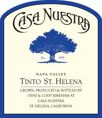 Casa Nuestra Tinto St. Helena