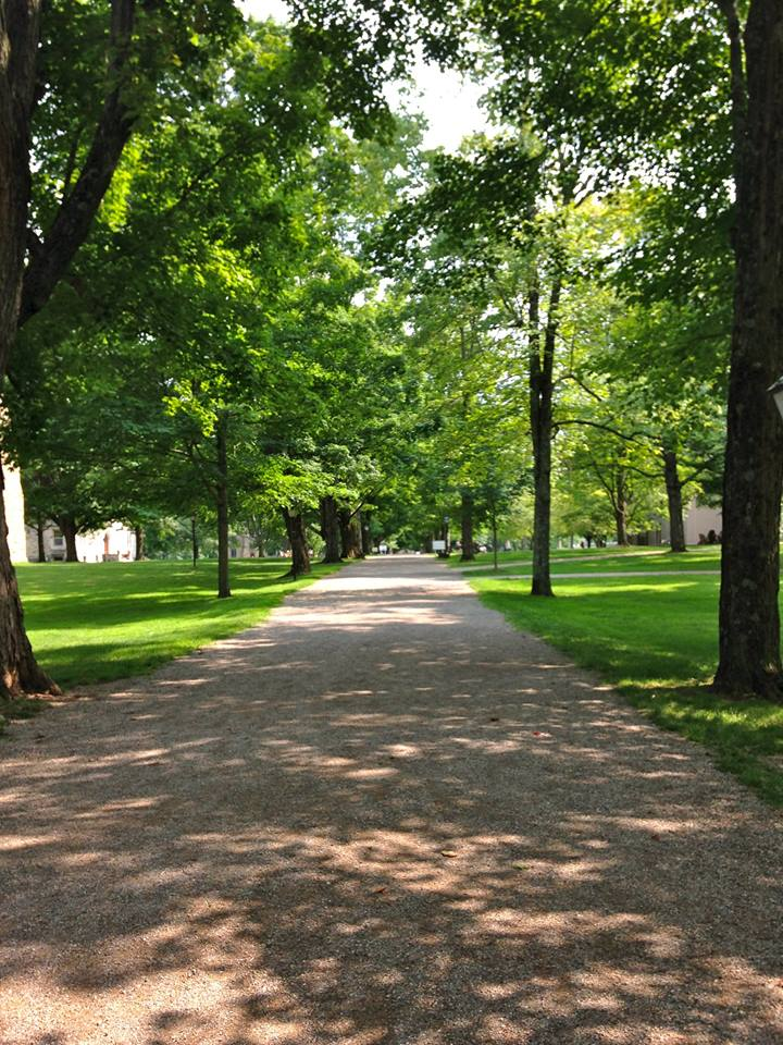 Middle Path at Kenyon College