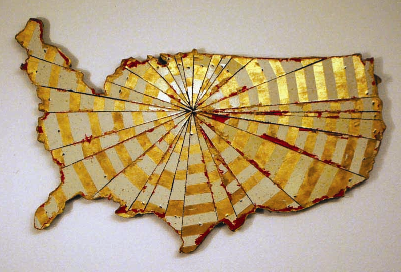 Not My Country,  Bart Vargas (South Texas Annual Human Rights Art Exhibit, Permanent Collection)