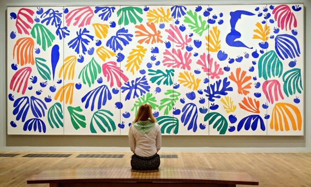 The Parakeet and the Mermaid, Henri Matisse (1952). Image Courtesy of The Guardian.