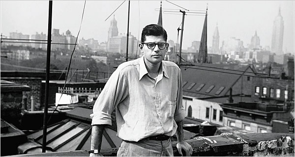 Allen Ginsberg, photo via  The New York Times