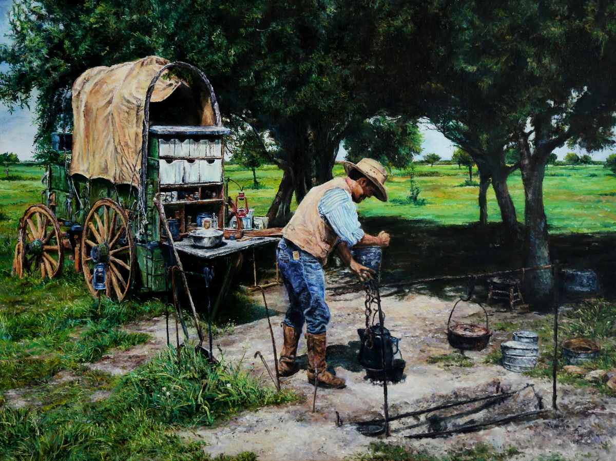""" Taste of Texas "" by Anton Zhou"