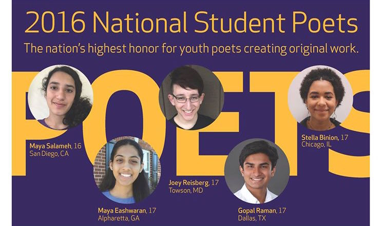 National Student Poets Program.