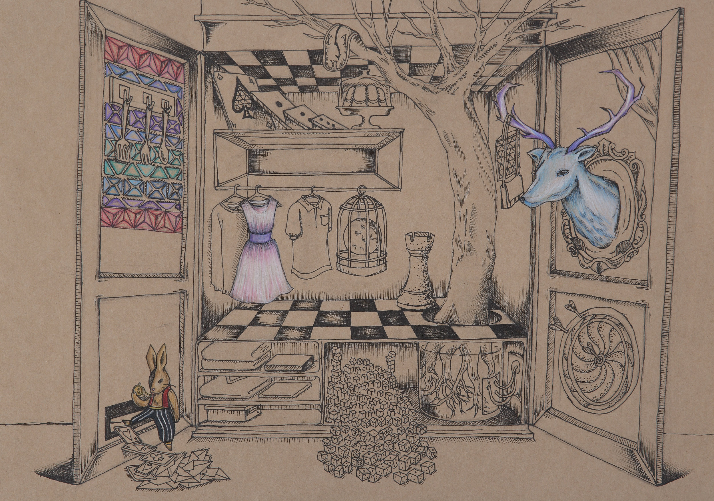 """ Closet "" by Jenn Moon"