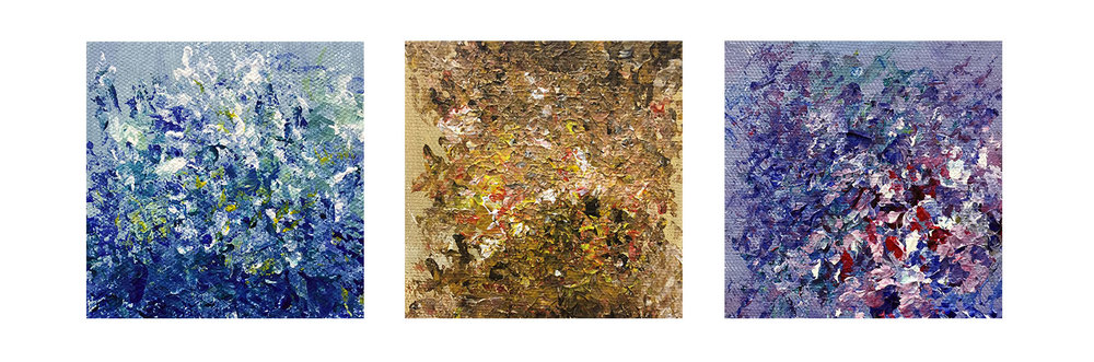 """""""  Triptych  """" by Wendi Yan"""