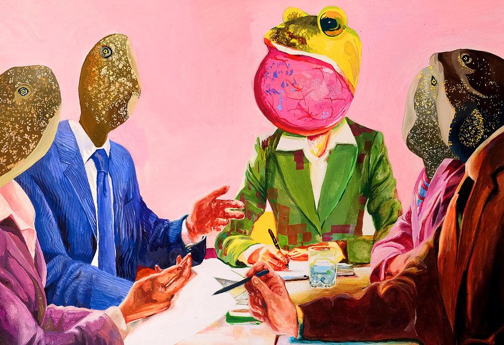 """"""" Satire """" by Nayeon Clara Hong"""