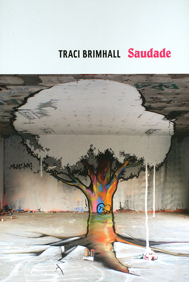 Traci Brimhall's  Saudade  (Copper Canyon Press, 2017).