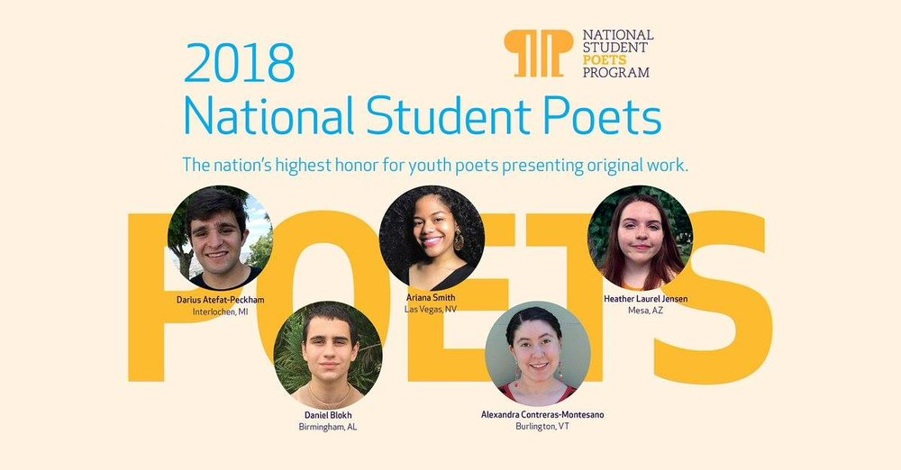National Student Poets Program.