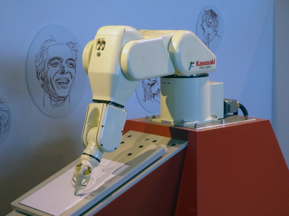 Robot at work: A lot of companies employ robots to augment production and cut the margin of human error.