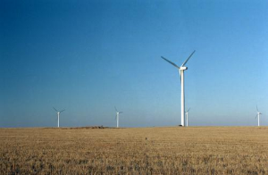 Wind turbines in South Dakota