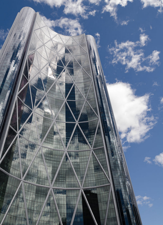 'The Bow'. Headquarters of Cenovus Energy (& Encana Corporation). Calgary, AB