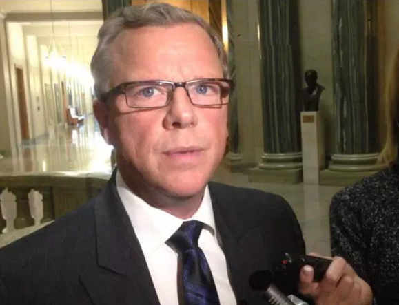 Premier Wall announces Saskatchewan's new 50% renewables target. 18 November 2015. Global News