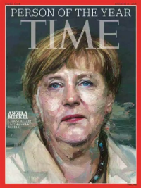 "Time Magazine's 'Person of the Year': Angela Merkel - Chancellor of Germany ""the most prosperous country in the EU"" and also (no coincidence we suspect) one of the world leaders in transitioning its electricity sector to renewables - the Energiewende - now at 30 percent and rising."