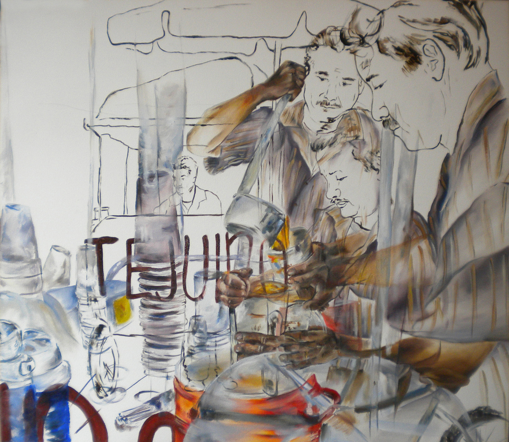 Tejuino  2010 oil on canvas 81 x 92 cm
