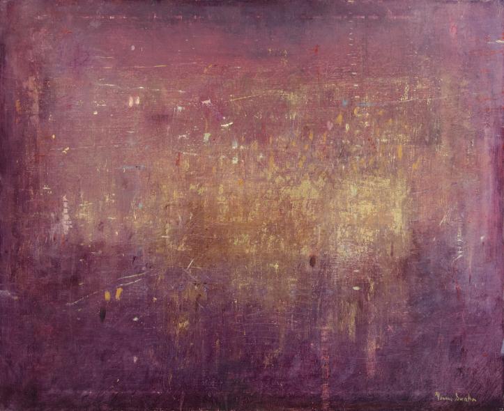 Lockande Sammanhang  (2012), oil on canvas